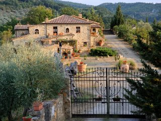 6 bedroom Villa in Seggiano, Tuscany, Italy : ref 5476993