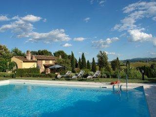 4 bedroom Villa in Castelfiorentino, Tuscany, Italy : ref 5477617