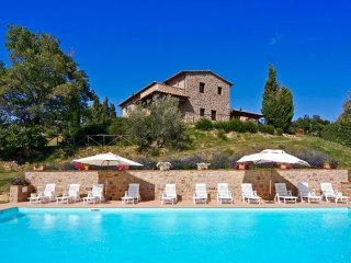 6 bedroom Villa in Tepolini, Tuscany, Italy : ref 5477618