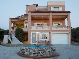 A modern villa of high quality