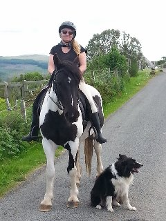 Back home after a lovely ride!