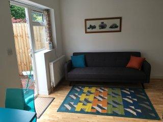 Newly built open plan apartment, Cambridge