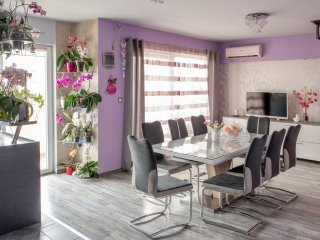 Seaview & terrace luxury duplex - Summer Orchid, Stobrec