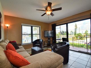 Villas of Clearwater Beach 4B 2 Bedrooms 2 Baths | Steps Away to the Beach | Heated Pool