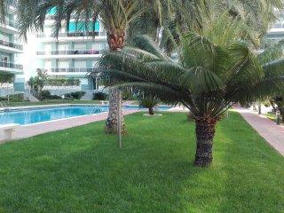 Apartamento Gandia Playa 4/6 huesp. Piscina y Park