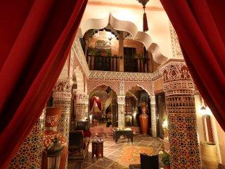 EXPERIENCE UNIQUE AU RIAD MILLE ET UNE NUITS & SPA, Marrakech