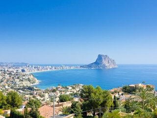 Villa with valley,mountains Ca, Calpe