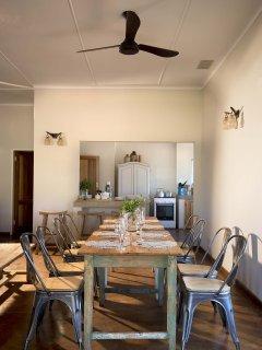 Open plan dining