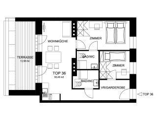 Central New Design Apartment 36, Viena