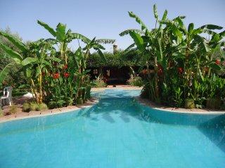 domaine caro  piscine chauffée privé, Marrakech