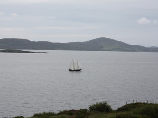 droumnea castle view, teresa daly holiday home, Bantry