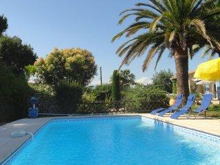 Mas provencal 8/10 personnes piscine privée ,calme, Antibes
