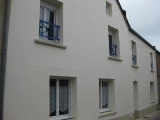 Maison de ville-meublée-Portbail-40km de Cherbourg
