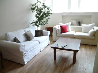 CENTRAL, LARGE, SAFE, COMFORTABLE FLAT WITH GARDEN, Estambul
