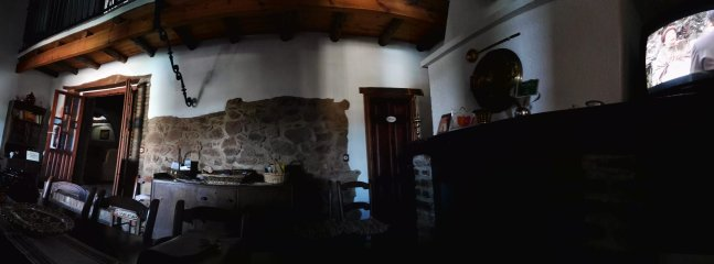 Foto panoramica cocina salon