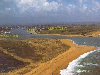 Maison bord des dunes, plage KERMINIHYn°1 KER OCEA, Erdeven