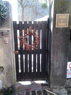 Garden Entrance to the Villa