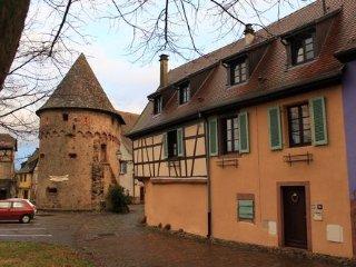 1 Plein Sud, au pied des Vosges et du vignoble, calme, confortable, WiFi gratuit