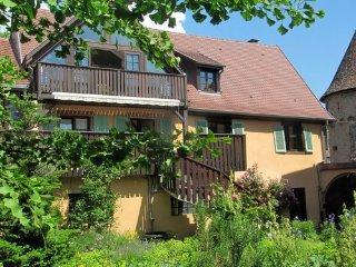 2 Pied des Vosges et vignoble, sud, WiFi gratuit, Ammerschwihr