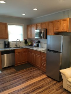 Granite countertop Stainless Steel appliances