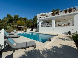 Villa with terrace,pool Sant J, Sant Josep