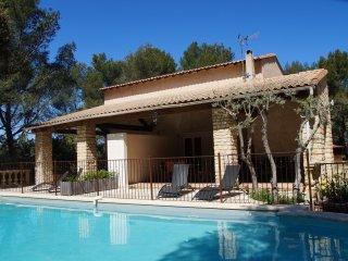 Maison Provence 5 pers Piscine Tennis - Le Domaine d'Alèzen, Grans