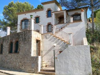 Villa with beach,terrace Begur
