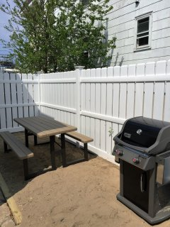 Picnic Table and grill