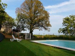 Domaine de la Paponie piscine cheminée pres Sarlat