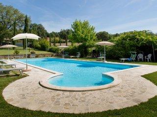 Villa indipendente  nella campagna Toscana,  con piscina, WI.FI, climatizzazione