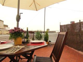 SUGAR : Ático con fantastica terraza.