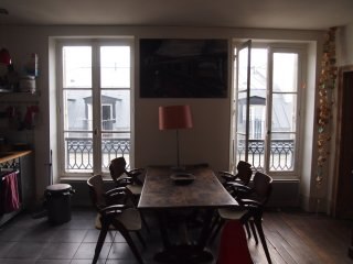 charming small appartement in Belleville