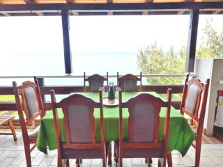 2+3 guests, beach exit and the sea view, Mimice