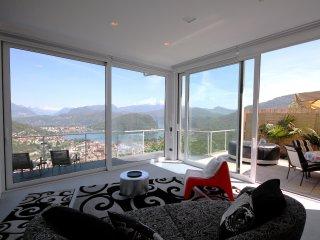 Loft Mirage, emozionante vista sul Lago di Lugano, Cadegliano Viconago