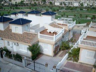 WE-1 Doppelhaushälfte über Golfplatz, Rojales