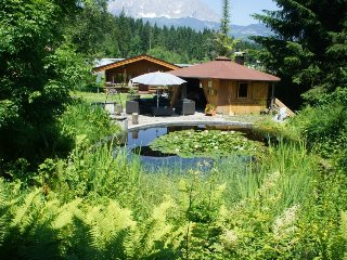 Ferienhaus 'Larche' im Gartenhotel Rosenhof