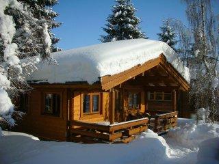 Ferienhaus oder Ferienwohnung Gartenblick im Gartenhotel Rosenhof bei Kitzbühel