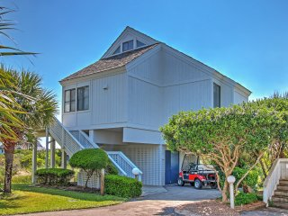 New Listing! Alluring 3BR Bald Head Island Villa w/Wifi, Multiple Decks & Gorgeous Ocean Views - Tranquil Cul-De-Sac Location Just Steps from the Beach!