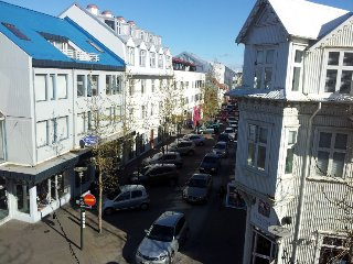 Luxury bright downtown appartment with a sea view, Reikiavik