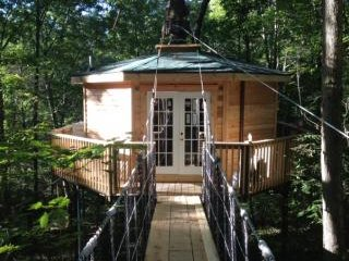 Tree House Cabin Lodging: Choose a Treehouse Hotel in West Virginia!, Hico