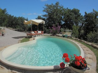 Beautiful countryside apartment with private pool, Monteciccardo
