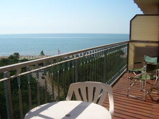Aquilone Residence | Studio with sea view, Lignano Pineta