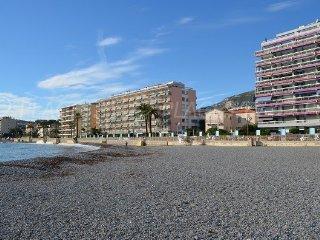 Appartement les pieds dans l'eau avc parking privé, Roquebrune-Cap-Martin
