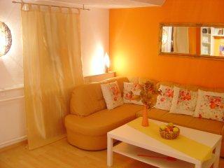 Wohnzimmer im mediterranem Stil