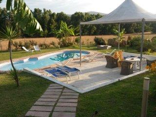 villa in campagna con piscina, Alghero