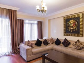 Spacious 2-Bedroomed Apartment In The City Centre, Estambul