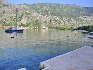 Belveder Penthouse with a sea view, Kotor