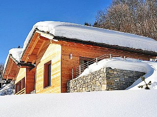 Chalet Montblanc with wellness centre, Heremence