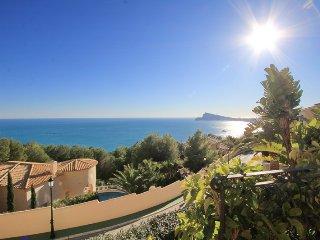 Villa de lujo con vistas al mar y piscina privada, Altea