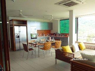 Double penthouse with sea view on Kata Noi beach, Kata Noi Beach
